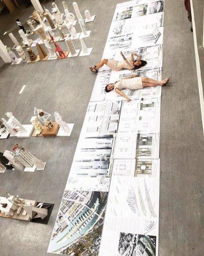 Планшеты 100х200 см с накаткой на 5 мм белый пенокартон для дипломников МАрхИ