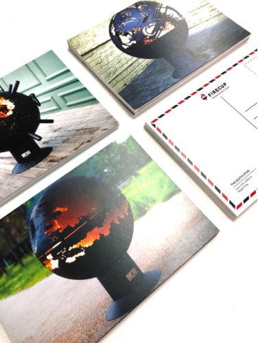 Печать открыток формата А5 на меловке 350 г/м2