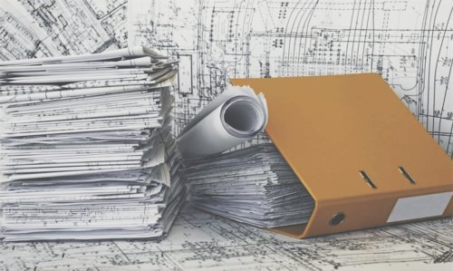 Рабочая документация, фальцовка в А4