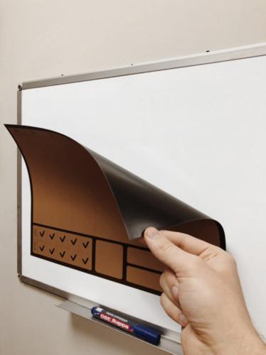 Магнитный планер формата А3. Лазерная печать + матовая ламинация